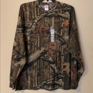 NWT Men's Mossy Oak Long Sleeve T-Shirt